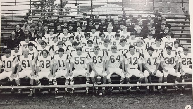 The Pleasant Spartans won the first-ever state championship played in a playoff in 1972. The seniors on the squad that was coached by Don Kay were Tim Wilson, John Millisor, Larry Cheetham, Doug Jerew, Jeff Granger, Randy Cleveland, Kevin Brandt, Dan Young, Dave Cheney, Brian Huddle, Mike Miley, Terry King, Max Midlam, Greg Guy, Dave Mauk, Phil Messenger and manafger Dick Harbin.