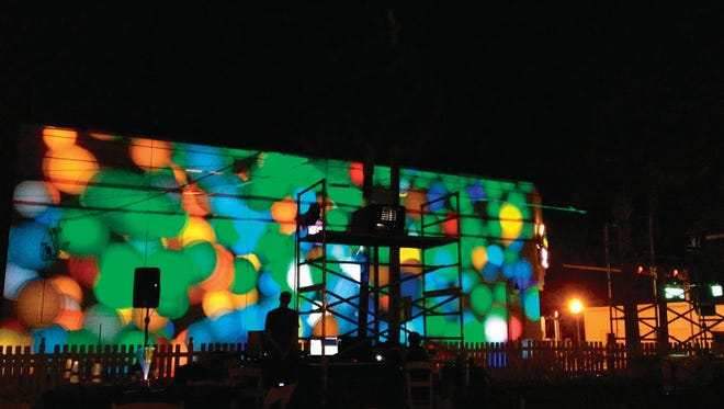 The Art & Algorithms digital arts festival in downtown Titusville was among the events to receive Titusville  Community Redevelopment Agency funding in recent years, according to city officials.
