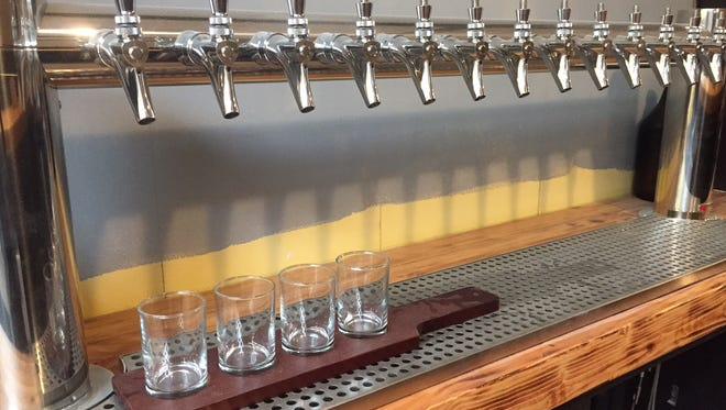 King's Road Brewing Company has a 14-tap system.
