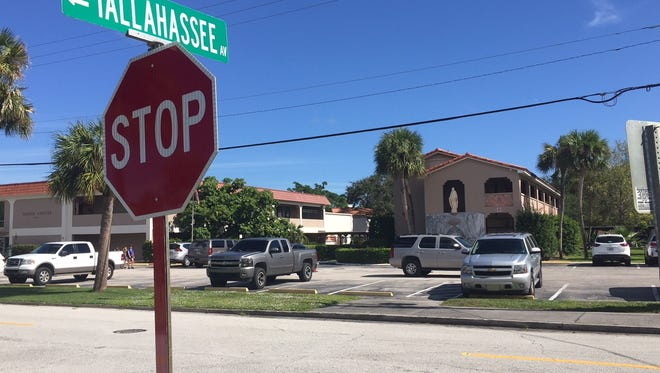 St. Helen School and church are on the east side of Tallahassee Avenue in Vero Beach. The church has acquired all property on both sides of the avenue and has asked the city to abandon the roadway.