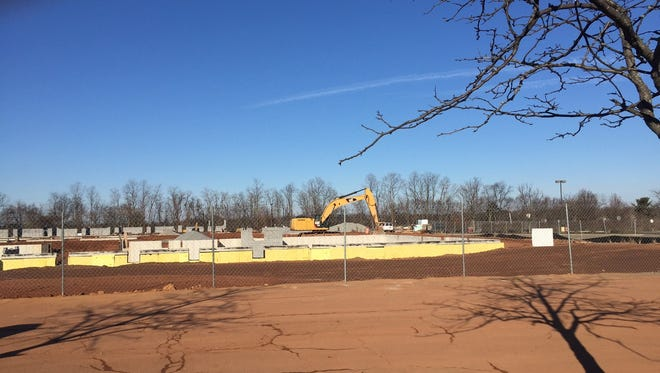 A new apartment complex is under construction on Route 1 South in New Brunswick.