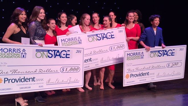 The 2018 winners of Morristown Onstage!