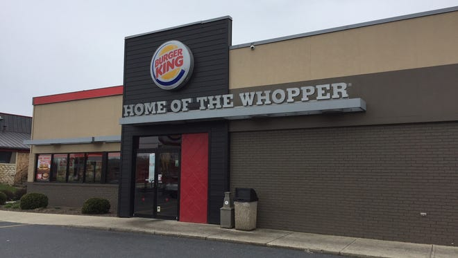 One of over 15,000 Burger King locations in the world, located at 710 E. Cumberland St. in Lebanon.