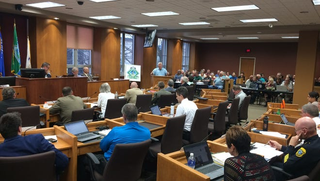 The Green Bay City Council meets May 1.