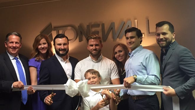 Ribbon Cutting for StoneWall Engineering
