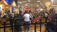 Build-A-Bear pay your age sale shut down at New Jersey malls