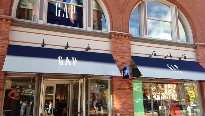 Gap and Gap Kids open for business Thursday on Church Street Marketplace in Burlington.
