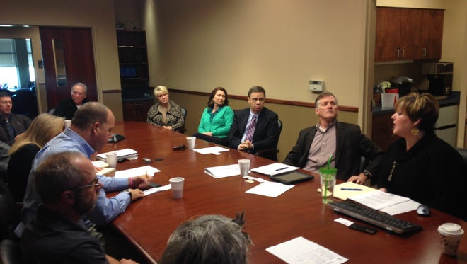 Members of the the Madison County Industrial Parks Committee met Tuesday morning to vote on the Kellogg facility.
