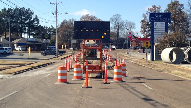 Construction will end on Carriage House Drive next Wednesday.
