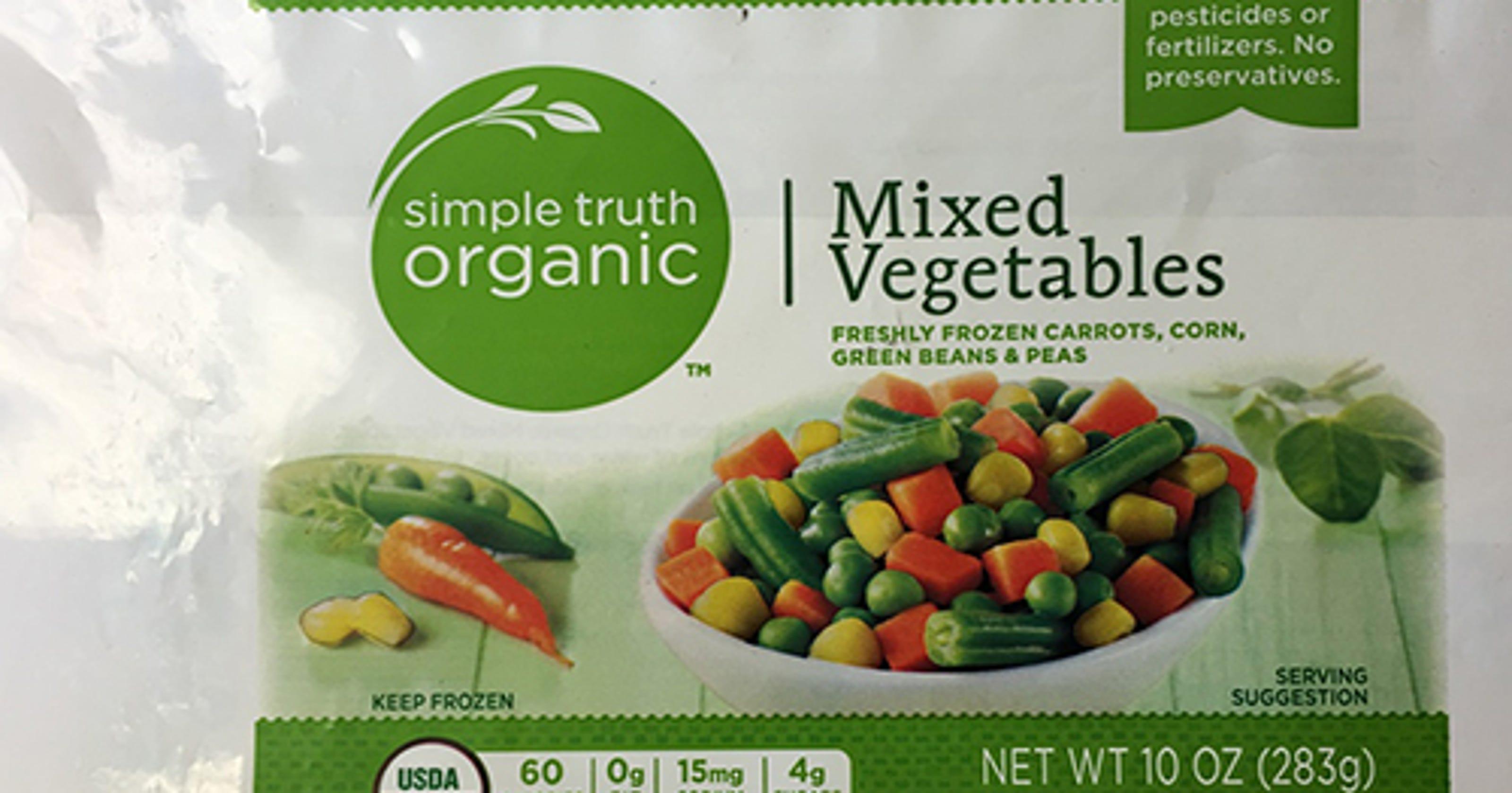 Kroger recalls mixed vegetables amid listeria concerns