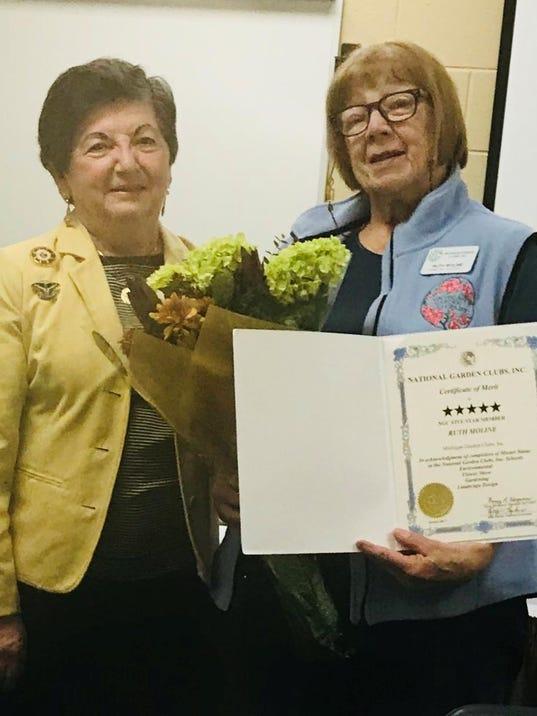 Ruth Moline 5 Star award