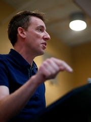 Secretary of State Jason Kander, a Democrat running