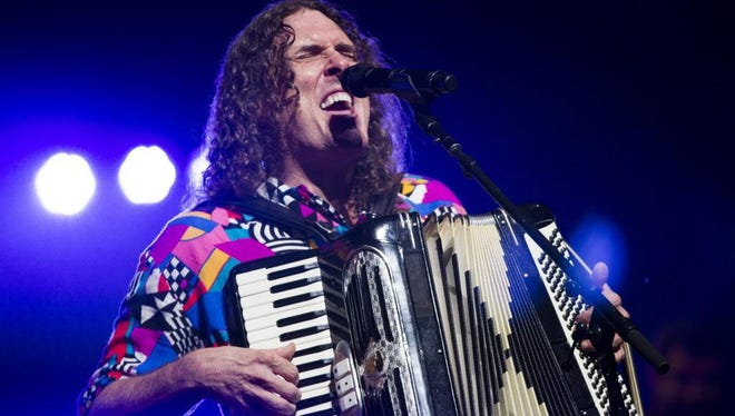 Weird Al Yankovic performs at the BMO Harris Pavilion at Summerfest on July 4. Photo by Katie Klann / kklann