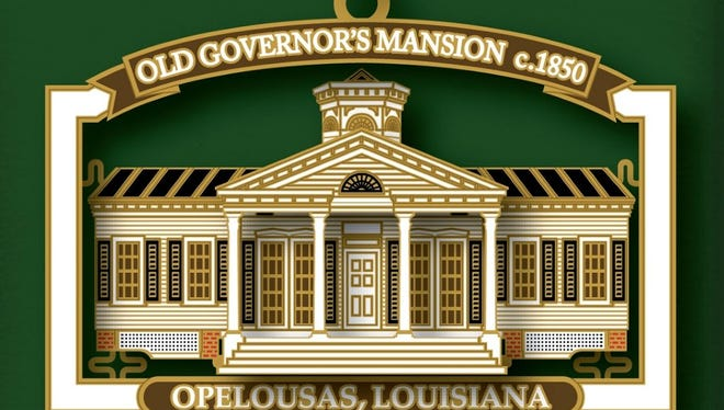 This year's collectible ornament features the Old Governor's Mansion.