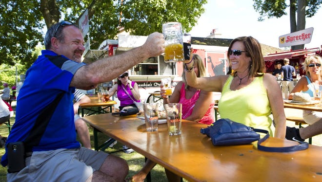 The Traveling Beer Garden arrives at Bender Park in Oak Creek June 6 and stays until June 24.