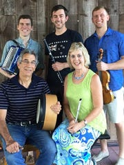 Irish Blessing will perform Aug. 26 at St. John's Episcopal Church.