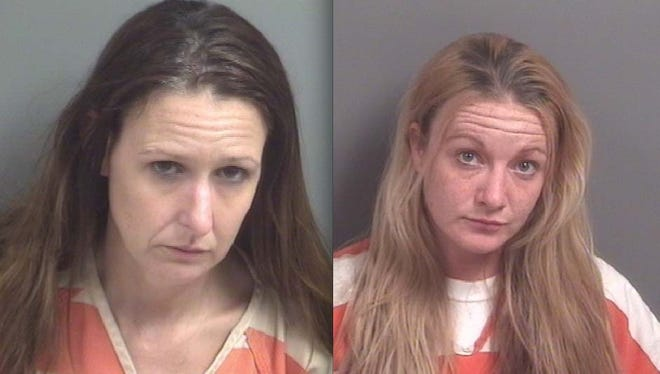 From left: Nicole Vermeylen and Lisa Finlayson