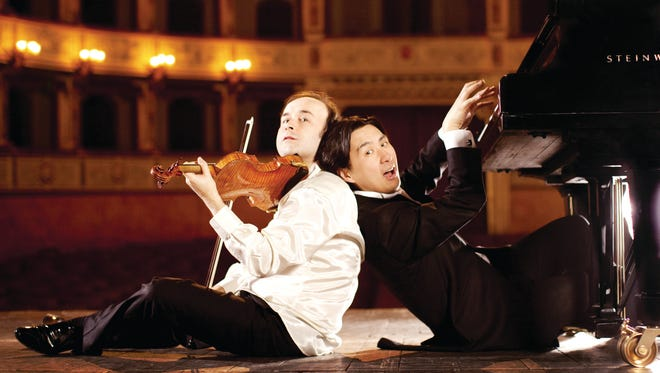 Igudesman & Joo will bring their special brand of music and comedy to the Lincoln Center on Feb. 25, 2016
