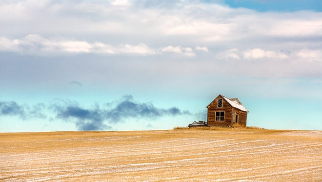 The historic Midge homestead, built in 1910, has fallen. But before it did, Todd Klassy captured his photo. See more of Klassy's Montana photos by going to: www.toddklassy.com.
