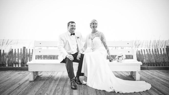Lindsay Heck and Chris Hocker married on April 30, 2016