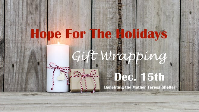 Catholic Charities will host a gift wrapping party Dec. 15.