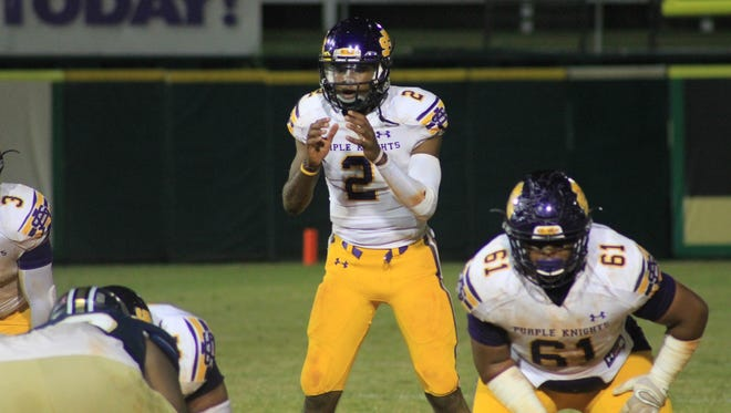 Quarterback Justice McCoy from New Orleans joins a CSU football roster full of talented quarterbacks.