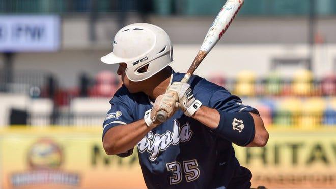 Chipola College outfielder Reynaldo Rivera.