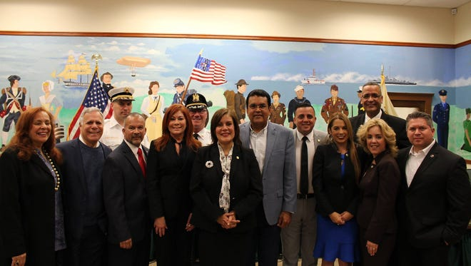 Perth Amboy welcomes the officials from Puerto Rico as they address the public at a press conference regarding the damage of Hurricane Maria, post-hurricane recovery efforts, the needs of the families and the assistance provided by the City of Perth Amboy.
