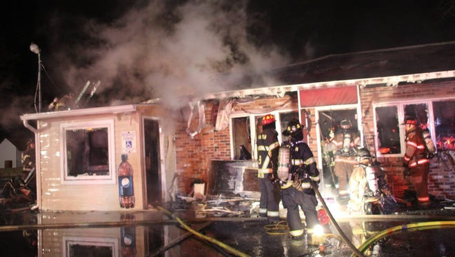 Nuzella's Pizza and Restaurant burned down during a fire in the early morning hours of Christmas Eve.