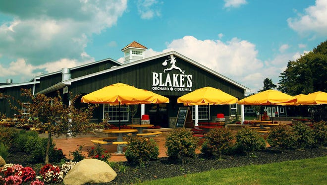 Blake's Hard Cider Co. of Armada announced in January 2018 that its cider mill and tasting room will stay open year-round for the first time in its 72-year history.