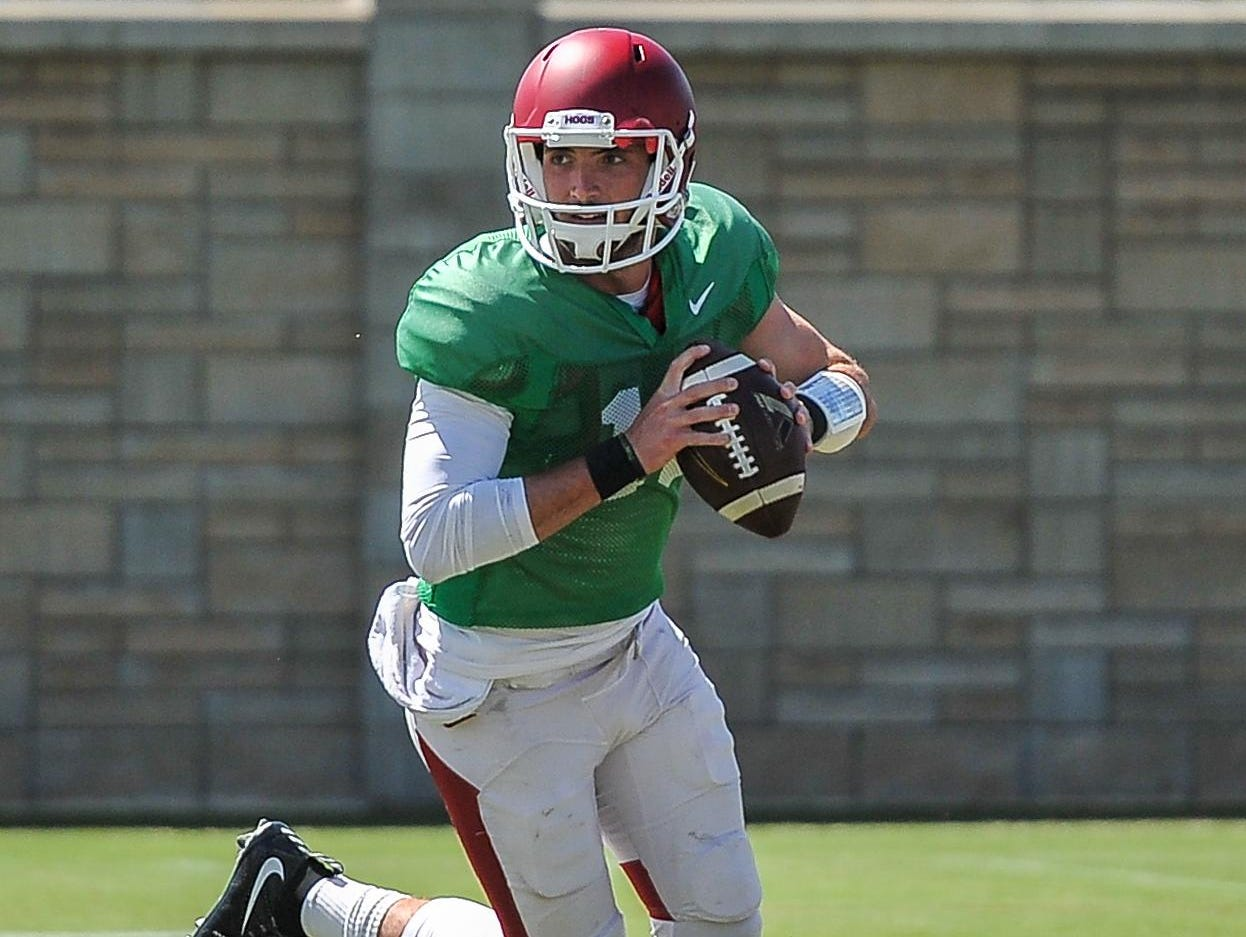 As a fifth-year senior, big things are expected of quarterback Brandon Allen, who is coming off a 2014 season in which he threw for 20 touchdowns and just five interceptions.