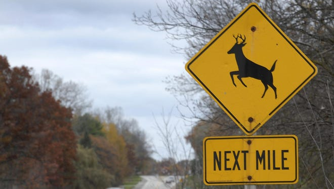 A 2014 deer census showed 134 of the animals living between the village's western border and U.S. 41.