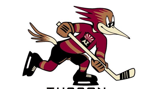 The new Tucson Roadrunners logo.