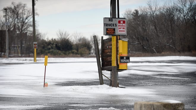 """The northwest corner of N. 16th St. and Cumberland is currently surrounded with """"No Trespassing"""" signs. But, the large empty commercial property is one step closer to becoming a Rutter's convenience store."""