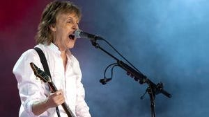 Paul McCartney has a Sept. 23 show at Syracuse's Carrier Dome.
