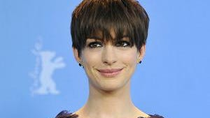 Actress Anne Hathaway. | Photo Credits: Xinhua/Ma Ning/Landov