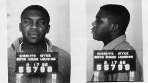 This mugshot of Massillon native Charles McDew was taken following his arrest for participating in a sit-in at a Baton Rouge luncheon counter in 1962.