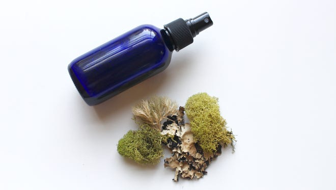 Neem oil and cedarwood oil combined with witch hazel makes an effective and all natural insect repellent.