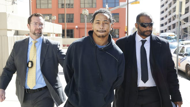 Former NMSU football player Terrance Yelder and six others were taken into custody Jan. 30 in connection with a $237,00 bank fraud scheme.