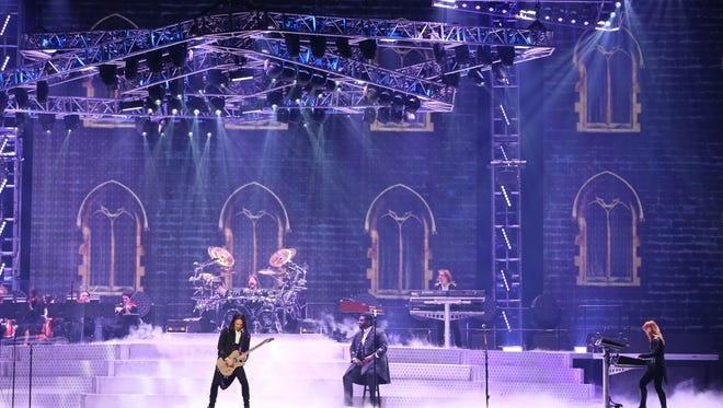 Trans-Siberian Orchestra, shown at at the BMO Harris Bradley Center in 2016, was one of the first artists played on WRIT-FM when it went all-Christmas.