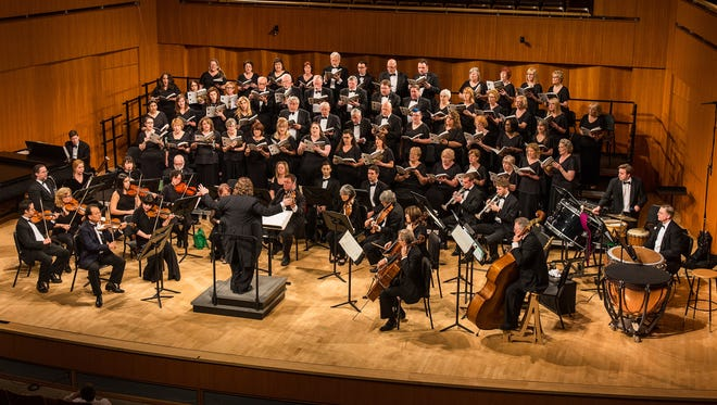 """The Morris Choral Society, under the direction of music director Jason Tramm, will perform a program called """"Rebirth and Renewal: A Celebration of Spring"""" at the Methodist Church on the Green at Morristown on Saturday, May 12. The program includes works by Faure, Barber, Thompson, and contemporary composers."""