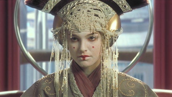 Natalie Portman stars as Queen Amidala of Naboo in