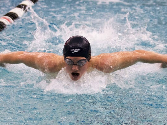 South Lyon Unified's Logan Boals was fourth in the