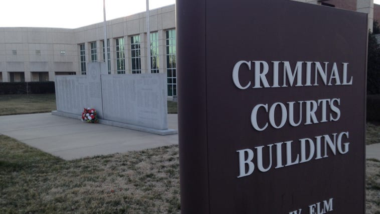 Criminal Courts Building in Graham.