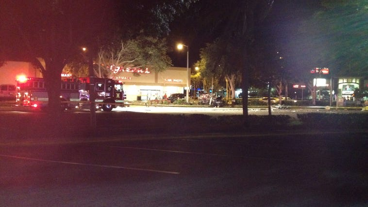 The accident occurred at the intersection of 34th Street
