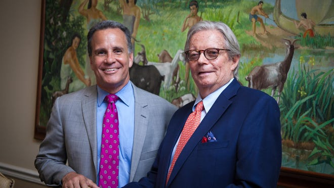 Illustrated Properties is headed by Chairman F.F.  Bud  Adams, right, and Keyes President and CEO Mike Pappas  Mandatory credit: Courtesy of Keyes Co./Illustrated Properties