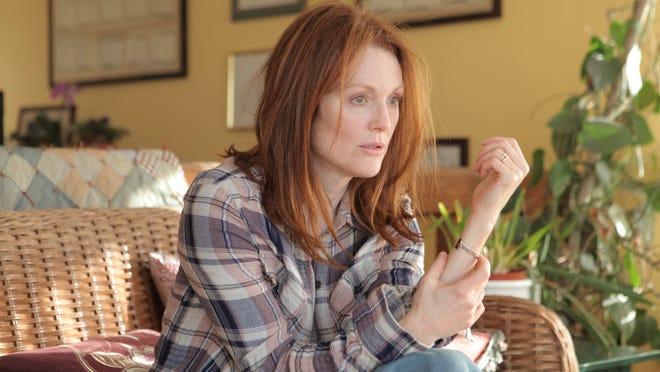 "Julianne Moore stars as a woman struggling with Alzheimer's in ""Still Alice"""