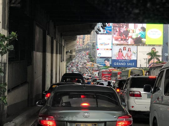 Traffic in the Philippines