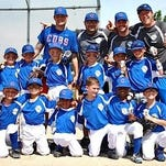 The Cubs recently captured the Pinto Division of the Northville Youth Baseball League. Team members include (front row, from left): Cody Walker, Yu Okochi, Sanjeev Swarnam, Joey Harris, Matthew Trumpy, Greg Kopich; (middle row, from left) Chuck Frady, James Tobis, Michael Schave, Keegan Litkewycz, Alex Wilson, Jaden Vondrasek; (back row, from left)coaches Matt Walker, Dan Litkewycz, Brian Wilson and Jon Vondrasek.