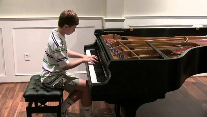 Christopher Tavernier, 14, of Hendersonville will be featured in Saturday's benefit concert.